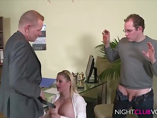 German Office Threesome Orgy Certificate Work Hd Video - cock sucking