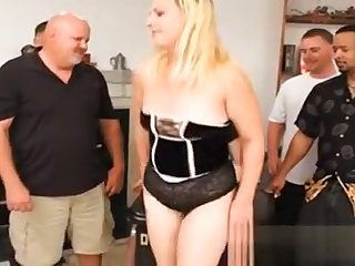 Grown-up Milf Slut Gagged And Gang Banged!