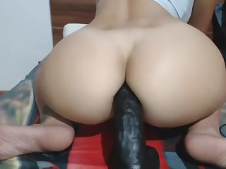 Huge booty dildo shepherd