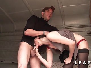 French Amateur Sex Mommy Bitch Gets Hard Ape Make the beast with two backs