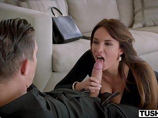 TUSHY Luscious French Girl Loves Butt Fucking - Xozilla Porn
