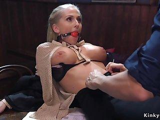 Bar owner assfuck bdsm hump big-bosomed agent