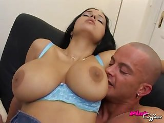 Anal sex together with blowjob are the best activity for busty Laura Lion