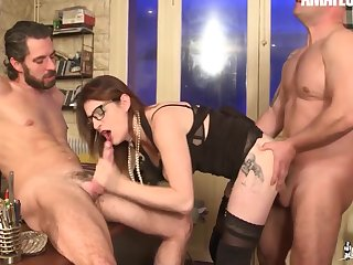 French Wife Missy Charme Has Dp With Doctor & Hubby