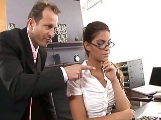 Defrancesca Gallardo Just about Outrageous Stockings Gets Fucked