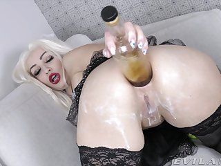 Dirty knockout KsuColt's extreme wrapround coupled with anal masturbation