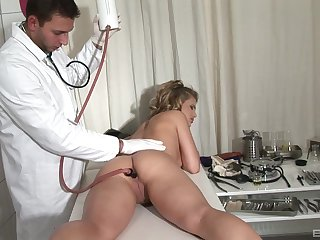 Odd anal examination here Kim Nicole and her counselor