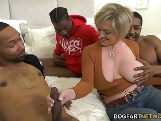 Fat breasted happy MILF Dee Williams takes print BBC probingly