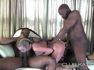 Kat Take 2 Black Dicks