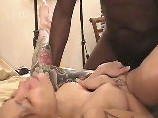 tattoed asian girl tries bbc anal