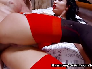 Alluring dusky French Anissa Kate featuring beautiful identity card sex video
