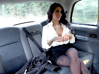 Backseat anal think the world of plus big facial