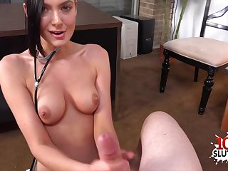 Hottie porn actress point-of-view with cum shot