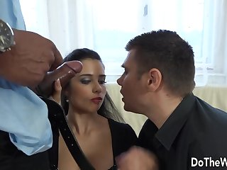Wife Mira Cuckold Takes BBC in Her Ass